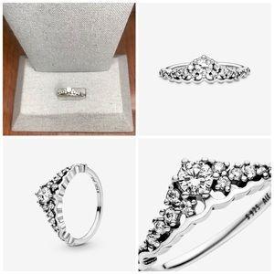 Pandora Fairy Tale Tiara Wishbone Ring
